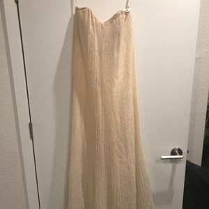 French connection gown